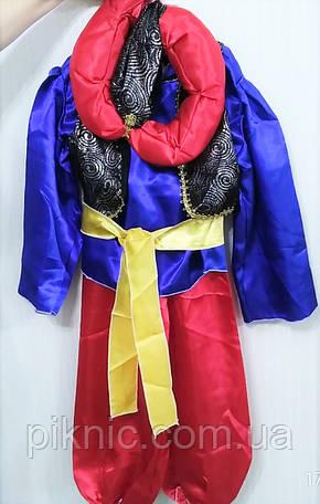 Костюм Аладин 6-8 лет Детский новогодний карнавальный костюм для мальчиков 344, фото 2