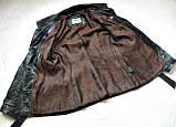 Жіноча шкіряна куртка Б/У Розмір S / 44-46, фото 2