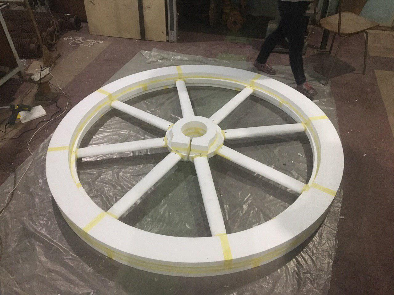Изготовление модельной оснастки для литья по газифицированным мод