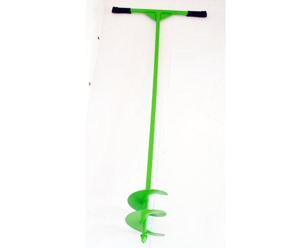 Бур ручной садовый шнековый 150 мм