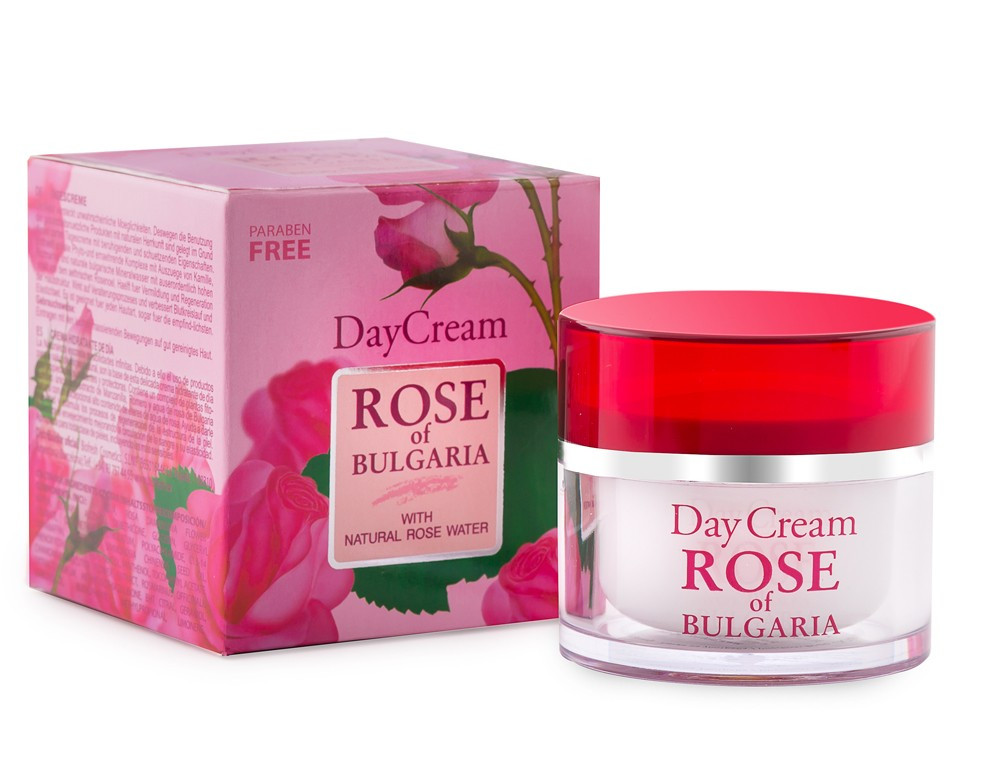 "Дневной крем для лица ""ROSE OF BULGARIA""/DAY CREAM ROSE OF BULGARIA 50мл"