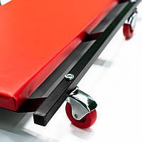 Лежак для механика металлический мягкий Profline 97404