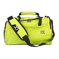 Сумка спортивная Travel Kit Black Lime Green