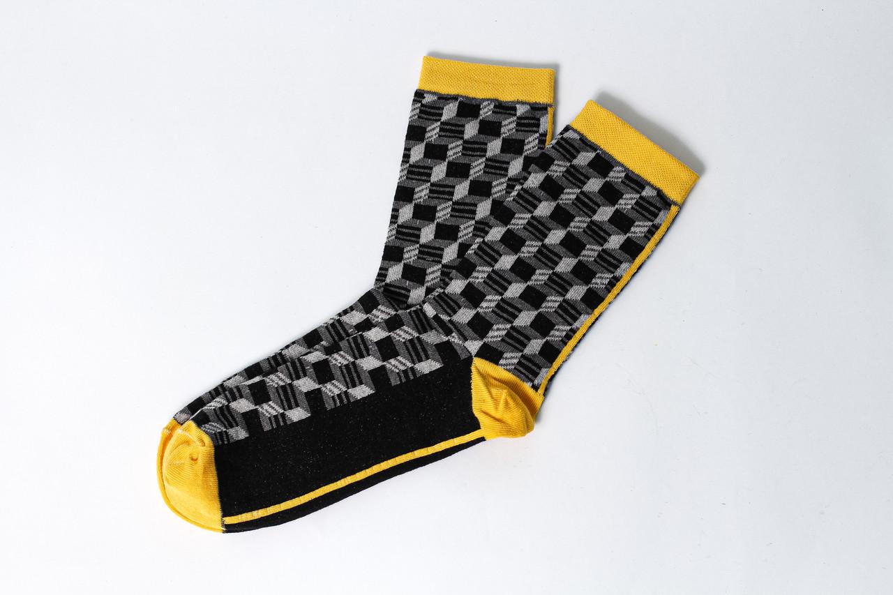 Мужские носки LOMM 3д кубы