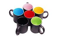 Печать на чашке хамелеон цветной