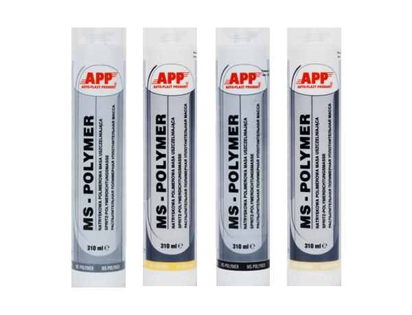 Герметик полимерный распыляемый  APP MS Polymer, 310 мл, Серый