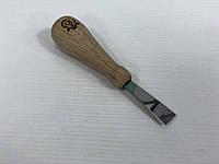 Короткая плоская стамеска АЮ для резьбы по дереву