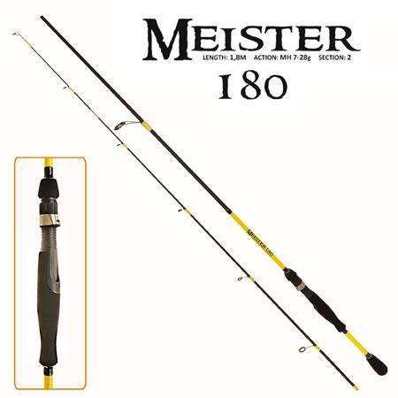 """Спінінг піновий """"Meister"""" 1.8 м 7-28р 2к FF23633 (25шт)"""