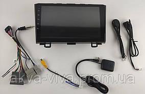 Штатная автомагнитола Honda CR-V 2007-2010 на Android с хорошей звуковой настройкой