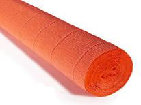 Бумага креповая, оранжевый неон № 581, 50*250 см, 180 г/м2, Cartotecnica Rossi, 6058103