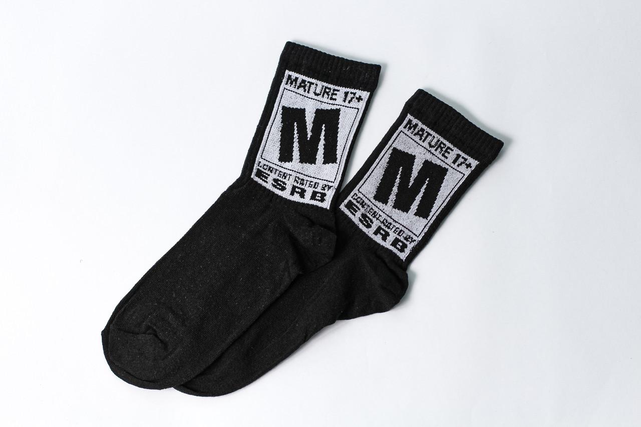 Мужские носки LOMM 17+ чёрные