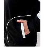 Стильный костюм-тройка с жилеткой, кофтой и брюками, фото 2