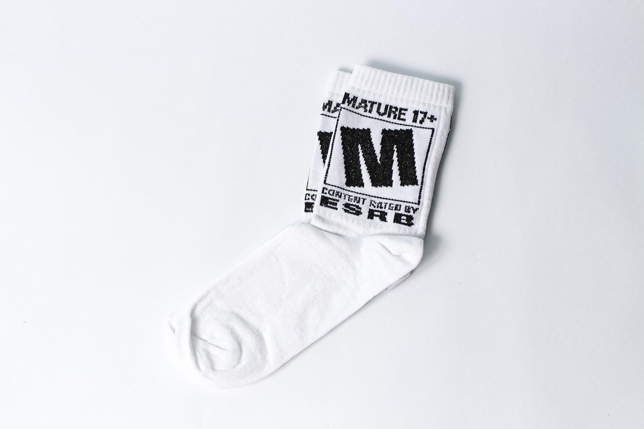 Чоловічі шкарпетки LOMM 17+ білі