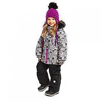 Зимний комплект NANO для девочки F19M294 Dk Cloud / Black