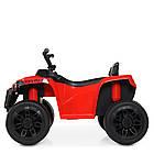 Детский электрический квадроцикл Bambi M 4229EBR-3 красный, фото 4