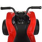 Детский электрический квадроцикл Bambi M 4229EBR-3 красный, фото 6
