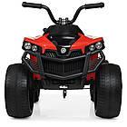 Детский электрический квадроцикл Bambi M 4229EBR-3 красный, фото 7