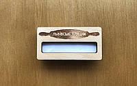 Бейдж деревянный с окошком