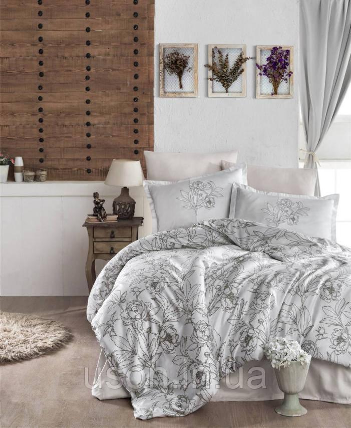 Комплект постельного белья  Clasy сатин размер евро TULUNA V1