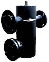 Фільтр грязьовик вертикальний фланцевий Ду 50