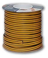 Уплотнитель резиновый самоклеющийся D-профиль 9 * 7.5мм коричневый