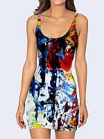 Женские 3D платье ABSTRACTION