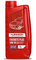 Моторное масло AZMOL Favorite Plus 10W-30 1 л