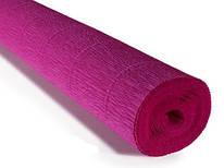 Бумага креповая, фиолетовый цикламен № 572, 50*250 см, 180 г/м2, Cartotecnica Rossi, 6057205