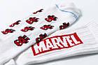 Мужские носки LOMM Premium Marvel. Человек-Паук белый, фото 2