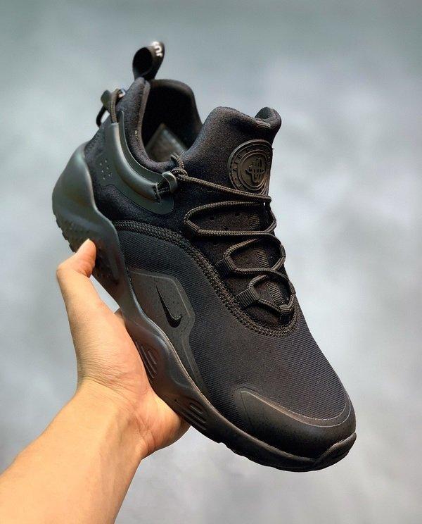"Кроссовки Nike Air Huarache City Move Triple Black ""Черные"""
