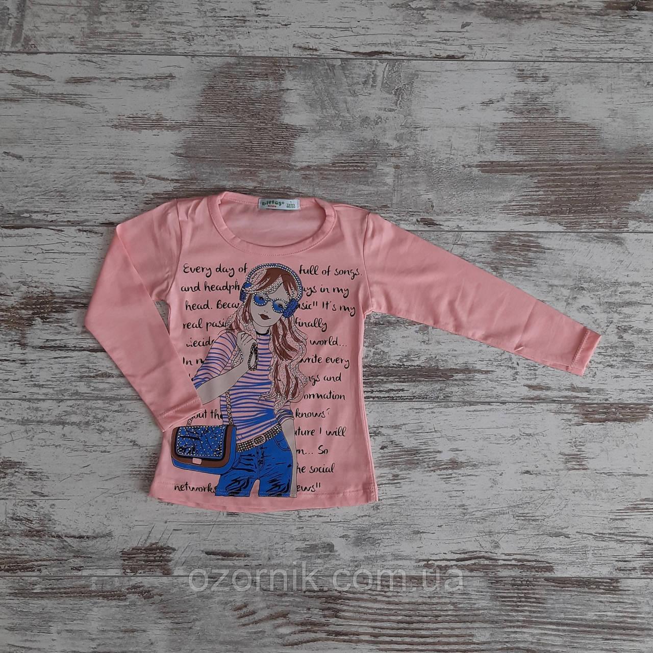 Оптом Стильный Детский Реглан для Девочек 5-8 лет Турция