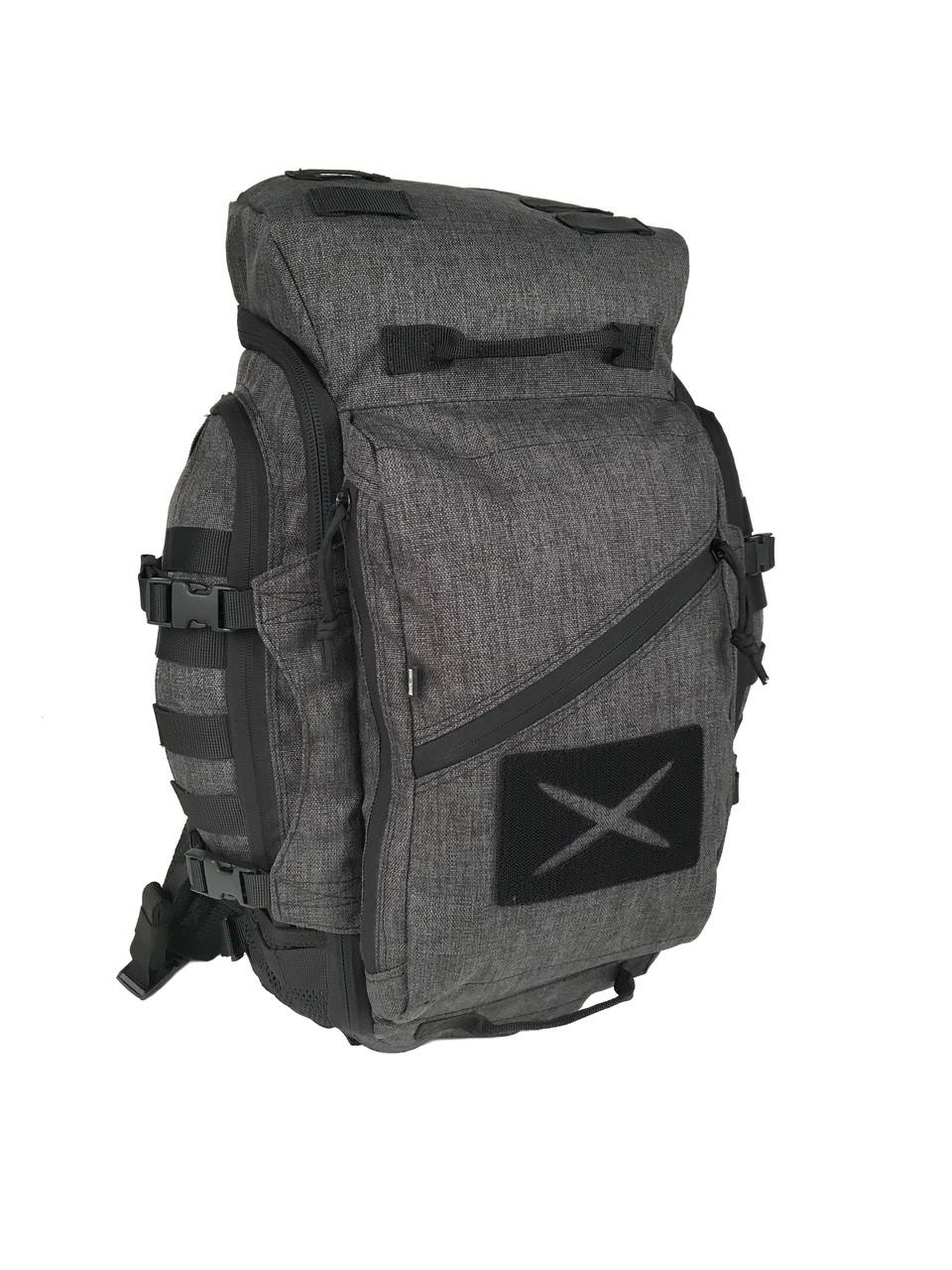 Тактический рюкзак ПК-S Grey Melange