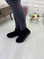 Женские ботиночки замш