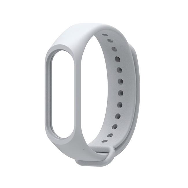 Ремешок для фитнес - трекера Xiaomi Mi Band 3/4 Серый