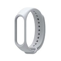 Ремешок для фитнес - трекера Xiaomi Mi Band 3/4 Серый, фото 1