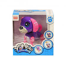 Интерактивная игрушка  Умный щенок фиолетово-розовый DISON