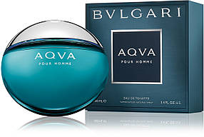 Мужская туалетная вода Bvlgari Aqua pour homme (свежий акватический аромат) | Реплика