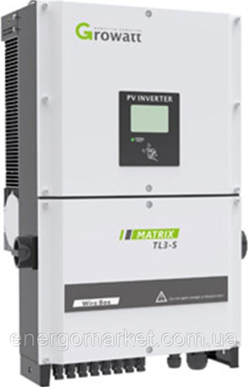 Сетевой инвертор GROWATT 30000TL3-S (30 кВт, 3-фазный, 2 МРРТ)