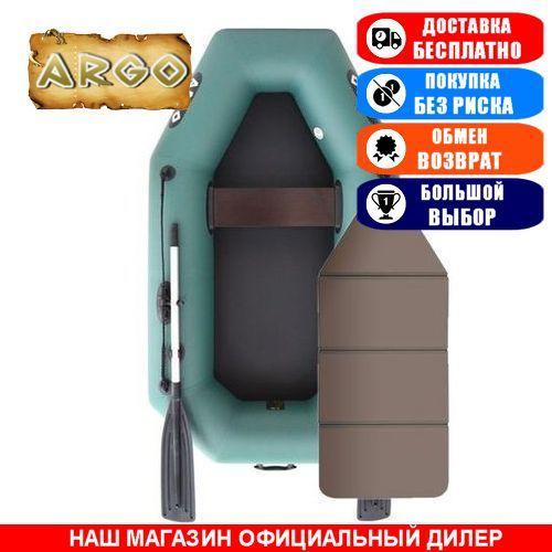 Лодка Argo A-220K. Гребная; 2,20м, 1мест. 850/950ПВХ, Сплошной настил; Надувная лодка ПВХ Арго А-220К;