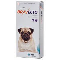 BRAVECTO (Бравекто) ОРИГИНАЛ!- Жевательная таблетка от клещей и блох для собак (-4,5 к-10 кг) ОРИГИНАЛ!