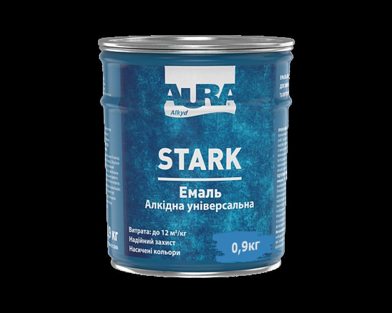 Эмаль алкидная AURA STARK универсальная светло-голубая 0,9кг