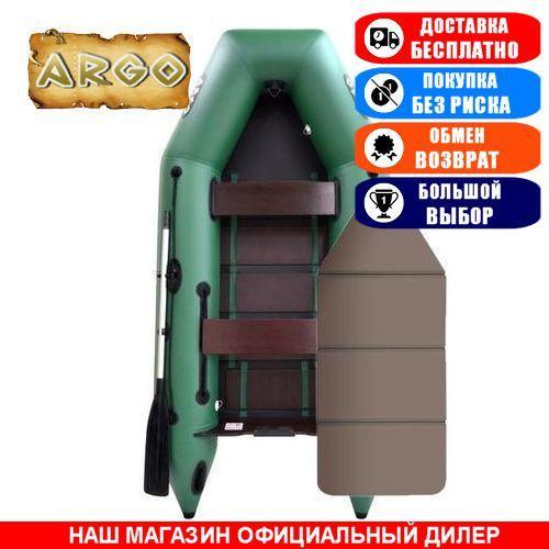 Лодка Argo AM-310KK. Моторная; 3,10м, 3 места, 1100/1100ПВХ, сплошное днище. Надувная лодка ПВХ Арго АМ-310КК;