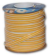 Уплотнитель резиновый самоклеющийся Е-профиль 9 * 4мм белый