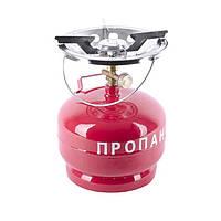 Комплект газовый кемпинговый 5 л., 220 мм*300мм ., 3,375 кг  INTERTOOL GS-0005
