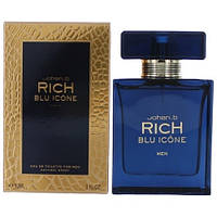 Johan B. Rich Blu Icone EDT 90ml (ORIGINAL) (туалетная вода Джохан Би Рич Блю Айкон оригинал)