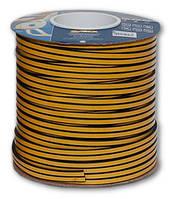Уплотнитель резиновый самоклеющийся Е-профиль 9 * 4мм коричневый