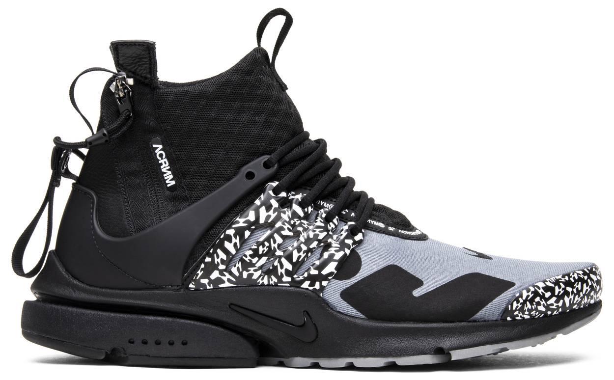 "Кроссовки Nike Air Presto x Acronym Cool Grey ""Серые"""