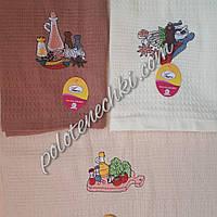 Вафельное кухонное полотенце 40х60