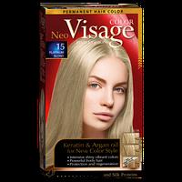 Стойкая краска для волос Visage Платиново-русый