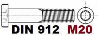 М20 02.01 8.8 DIN 912